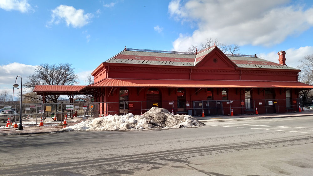 Sardo Land Surveying - Hudson NY train station