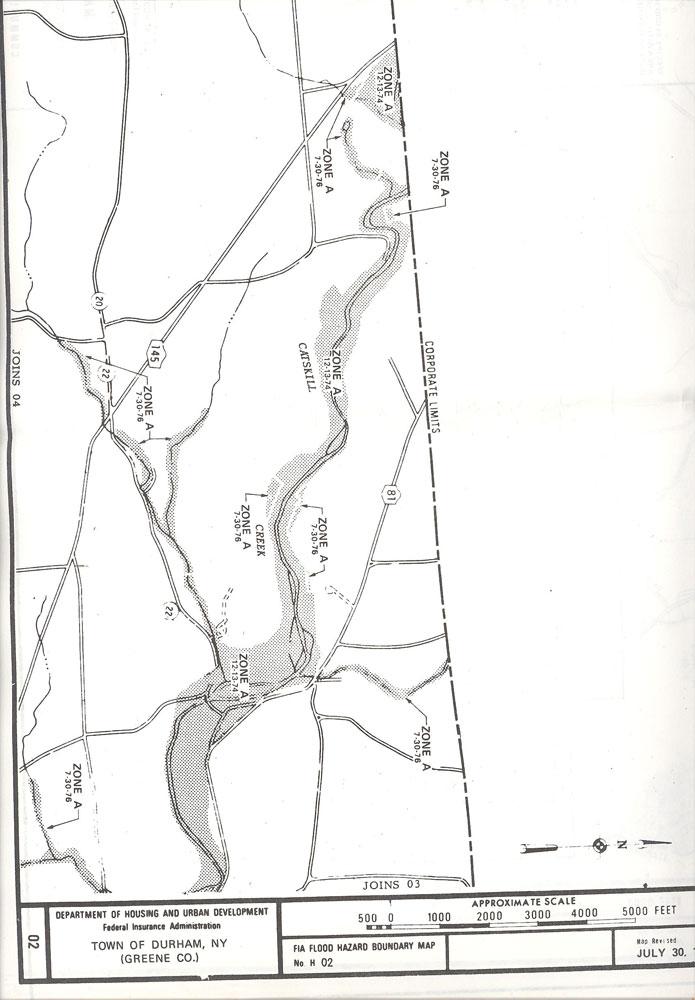 Sardo Land Surveying - wetlands map